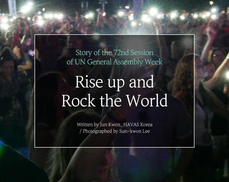 Rise up and Rock the world